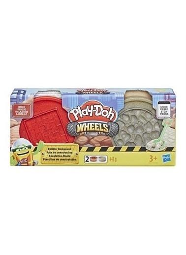Play-Doh  ınşaat Hamuru Tuğla-Taş E4508-E4524 Renkli
